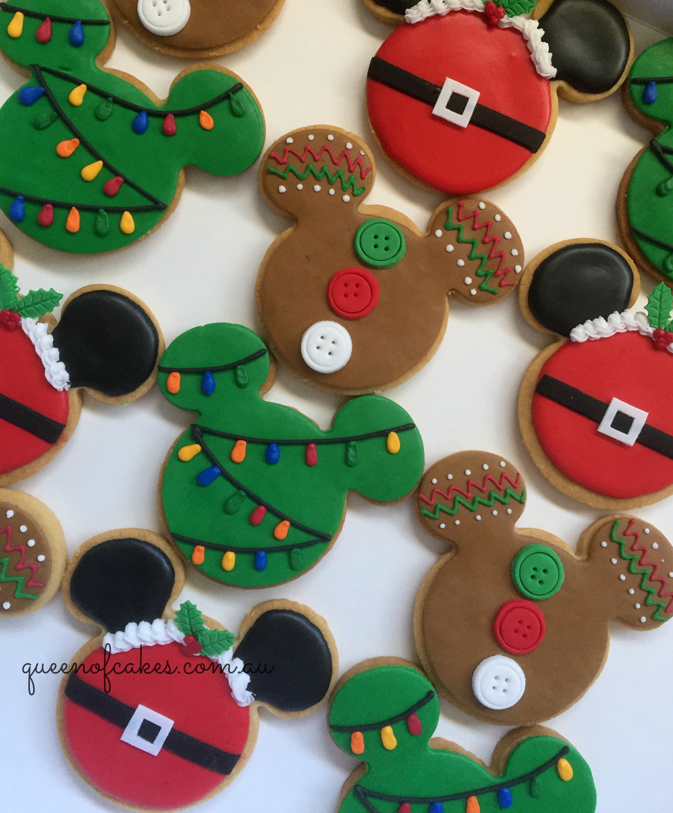 Cookie Cake Designs For Christmas