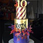 Kooza corporate cake